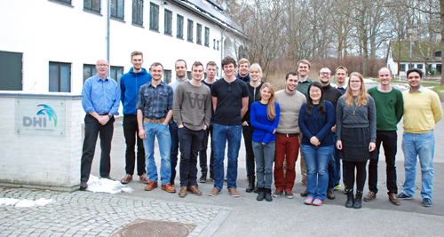 DTU training at DHI in January 2014