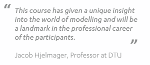 Quote from DTU training course in January 2014